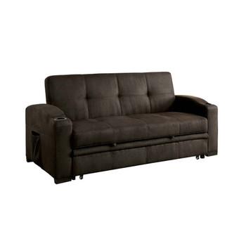 Furniture of America IDF-2691 Duggar Transitional Tufted Futon