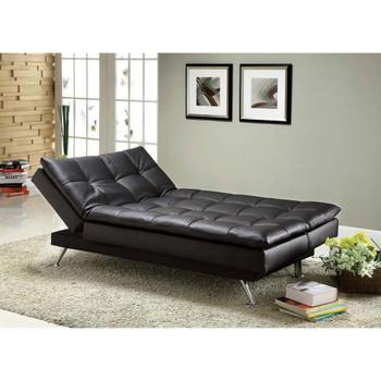 Furniture of America IDF-2750 Trudy Contemporary Tufted Futon