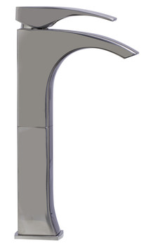 ALFI brand AB1587-BN Tall Brushed Nickel Single Lever Bathroom Faucet