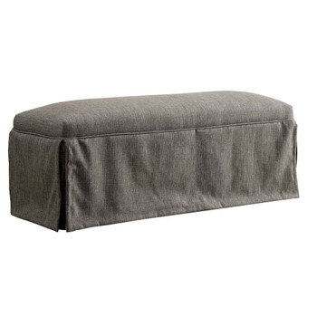 Furniture of America IDF-3341GY-BN Cullen Rustic Bench in Gray