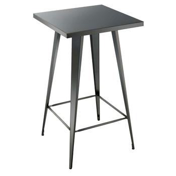 Furniture of America IDF-3504BT Simon Industrial Square Bar Table