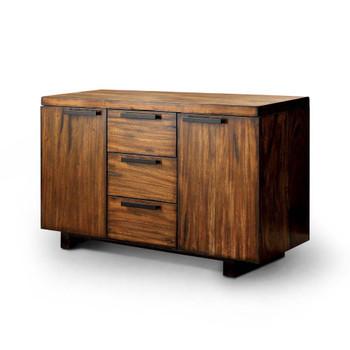 Furniture of America IDF-3606SV Ava Contemporary Multi-Storage Server