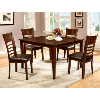 Furniture of America IDF-3916T-5PK Othello Transitional 5-Piece Dining Set