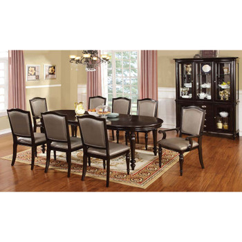 Furniture of America IDF-3970T Harry Transitional 20-Inch Leaf Dining Table