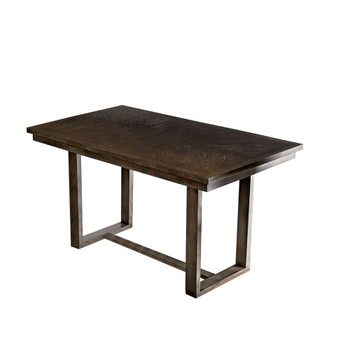 Furniture of America IDF-3986PT Judah Contemporary Rectangular Counter Height Table
