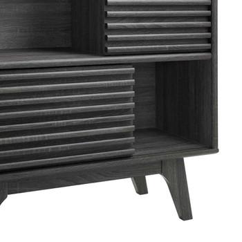 Modway EEI-3343 Render Three-Tier Display Storage Cabinet Stand