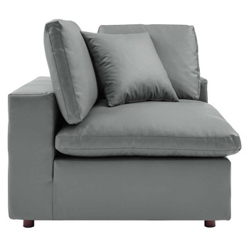 Modway EEI-4696 Commix Down Filled Overstuffed Leather Corner Chair