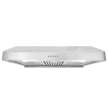 """XtremeAir Ultra Series UL10-U367, 36"""" width, Baffle filters, 3-Speed Mechanical Buttons, Full Seamless, 1.0 mm Non-magnetic S.S, Under cabinet hood"""