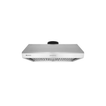 """XtremeAir Ultra Series UL13-U36, 36"""" width, Baffle filters, 3-Speed Mechanical Buttons, Full Seamless, 1.0 mm Non-magnetic S.S, Under cabinet hood"""