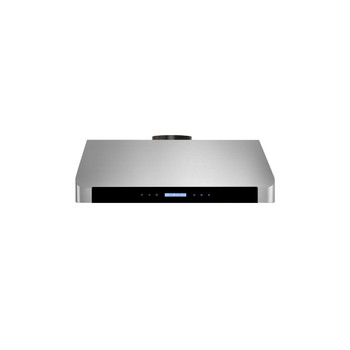 """XtremeAir Special Pro-X Series SP10-U36, 36"""", LED Lights, Baffle Filter W/ Grease Drain Tunnel, 1.0mm Non-Magnetic Stainless Steel, Under Cabinet Mount Range Hood"""
