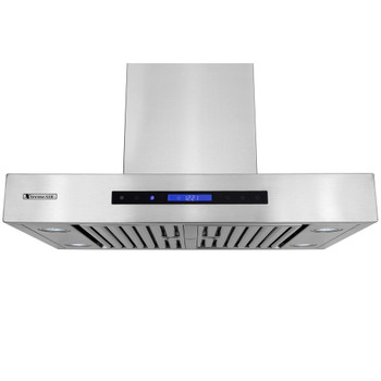 """XtremeAir Pro-X Series PX06-W30, 30"""" Wide, Easy Clean swing-able baffle Filters, Stainless Steel, Wall Mount Range Hood"""