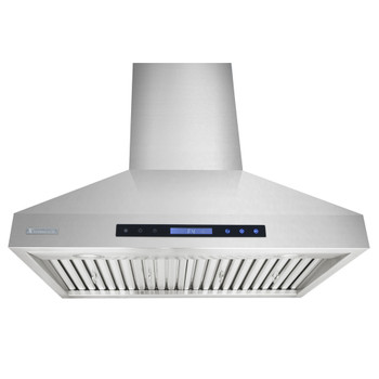 """XtremeAir Special Pro-X Series SP03-W30, 30"""", LED lights, Baffle Filters W/ Grease Drain Tunnel, 1.0mm Non-Magnetic Stainless Steel Seamless Body, Wall Mount Range Hood"""