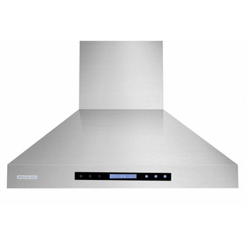 """XtremeAir Special Pro-X Series SP03-W36, 36"""", LED lights, Baffle Filters W/ Grease Drain Tunnel, 1.0mm Non-Magnetic Stainless Steel Seamless Body, Wall Mount Range Hood"""