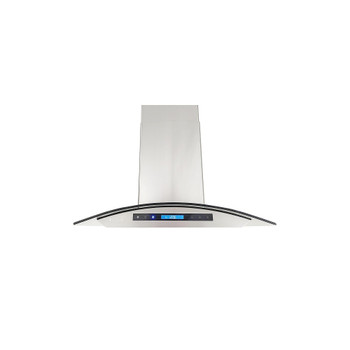 """XtremeAir Special Pro-X Series SP01-I36, 36"""" Wide, Baffle Filters, Stainless Steel, Island Mount Range Hood"""