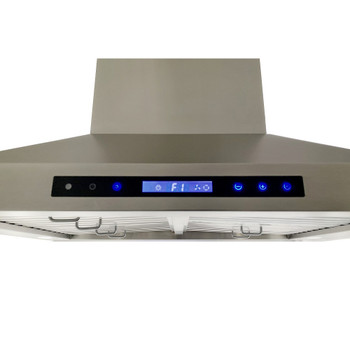 """XtremeAir Special Pro-X Series SP05-I36, 36"""" Wide, Baffle Filters, Stainless Steel, Island Mount Range Hood"""
