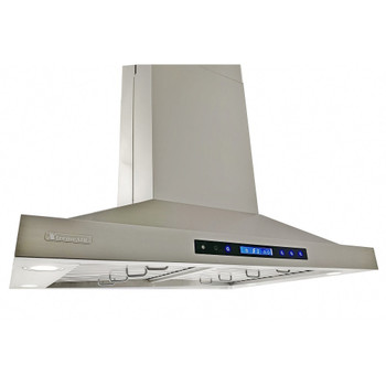 """XtremeAir Special Pro-X Series SP05-I42, 42"""" Wide, Baffle Filters, Stainless Steel, Island Mount Range Hood"""