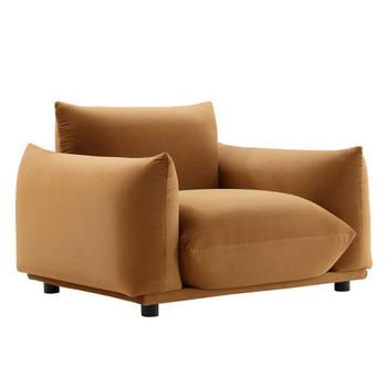 Modway EEI-5472 Copious Performance Velvet Armchair