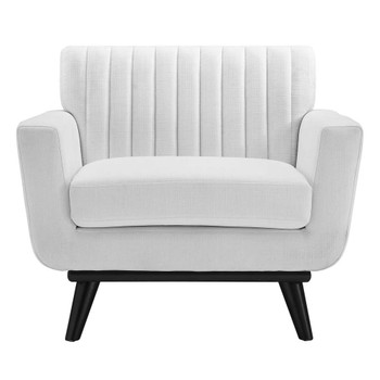 Modway EEI-5460 Engage Channel Tufted Fabric Armchair