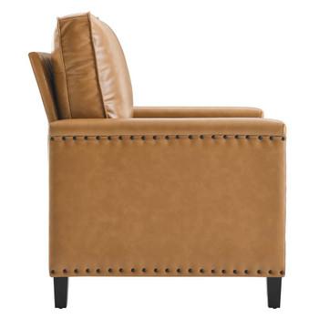 Modway EEI-4990 Ashton Vegan Leather Armchair