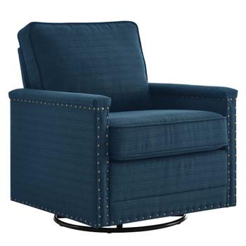 Modway EEI-4991 Ashton Upholstered Fabric Swivel Chair