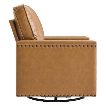 Modway EEI-4993 Ashton Vegan Leather Swivel Chair