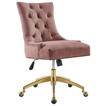 Modway EEI-4571 Regent Tufted Performance Velvet Office Chair