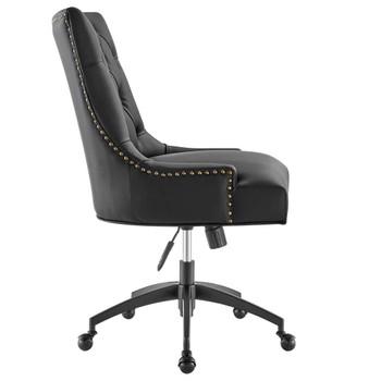Modway EEI-4573 Regent Tufted Vegan Leather Office Chair