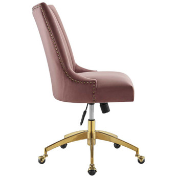 Modway EEI-4575 Empower Channel Tufted Performance Velvet Office Chair
