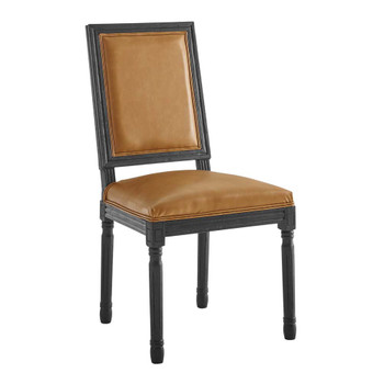 Modway EEI-4663 Court French Vintage Vegan Leather Dining Side Chair