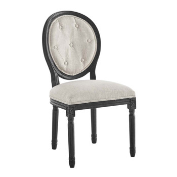 Modway EEI-4664 Arise Vintage French Upholstered Fabric Dining Side Chair