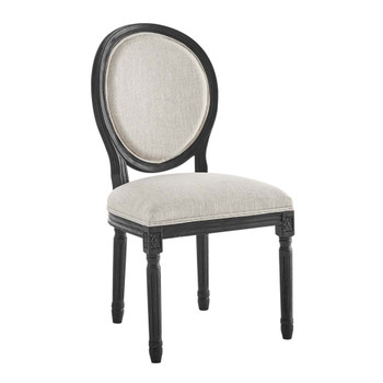 Modway EEI-4667 Emanate Vintage French Upholstered Fabric Dining Side Chair