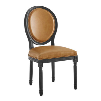Modway EEI-4669 Emanate Vintage French Vegan Leather Dining Side Chair