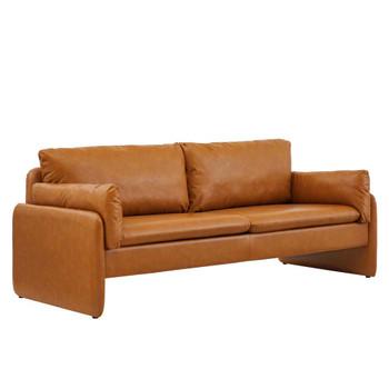 Modway EEI-5151 Indicate Vegan Leather Sofa
