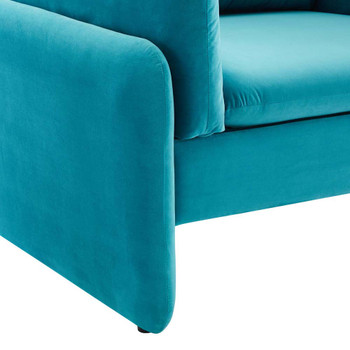 Modway EEI-5152 Indicate Performance Velvet Armchair