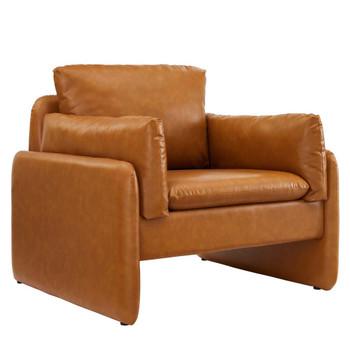 Modway EEI-5153 Indicate Vegan Leather Armchair