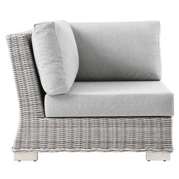 Modway EEI-4838 Conway Outdoor Patio Wicker Rattan Corner Chair