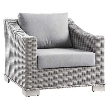 Modway EEI-4840 Conway Outdoor Patio Wicker Rattan Armchair