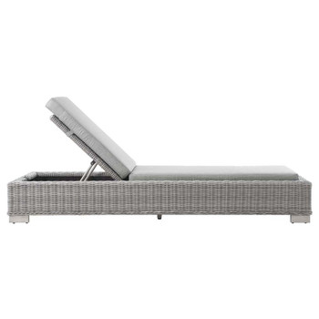 Modway EEI-4843 Conway Outdoor Patio Wicker Rattan Chaise Lounge