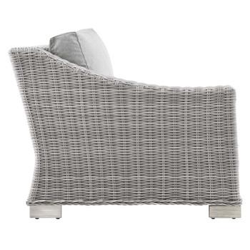 Modway EEI-4845 Conway Outdoor Patio Wicker Rattan Left-Arm Chair