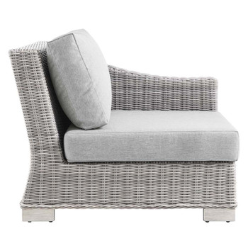 Modway EEI-4846 Conway Outdoor Patio Wicker Rattan Right-Arm Chair