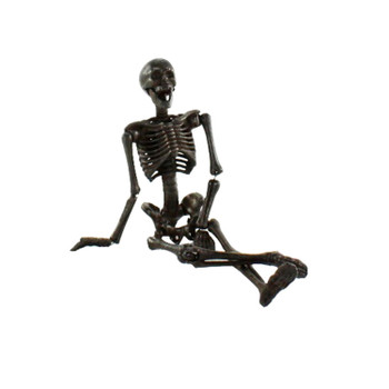 ARTICULATED SKELETON - CAST IRON - NATURAL