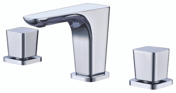 ALFI brand AB1782-PC Polished Chrome Widespread Modern Bathroom Faucet