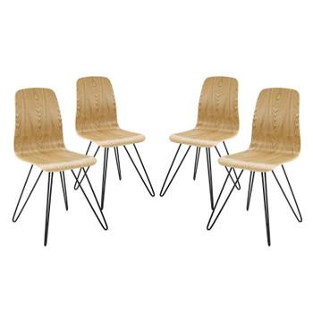 Drift Dining Side Chair Set of 4 EEI-3379-NAT Natural