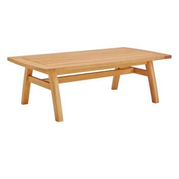 Orlean Outdoor Patio Eucalyptus Wood Coffee Table EEI-3700-NAT Natural