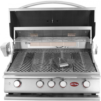 CalFlame BBQ18P04 BBQ Propane Gas Grills 4 BURNER with Lights, Rotisserie & Back Burner - LP