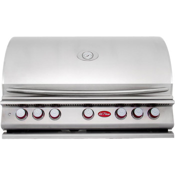 CalFlame BBQ18P05 BBQ Built In Grills 5 BURNER with Lights, Rotisserie & Back Burner - Propane Gas