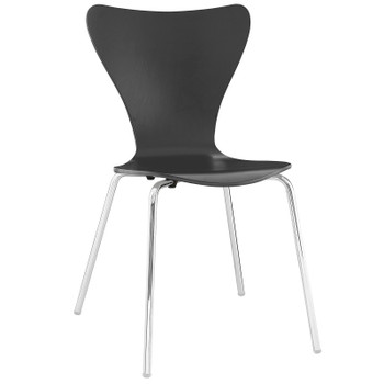 Ernie Dining Side Chair EEI-537-BLK Black