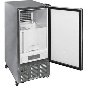 Cal Flame Outdoor Compact Ice Maker - Stainless Steel - BBQ10700
