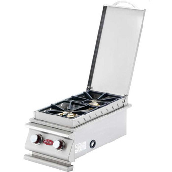 Cal Flame Deluxe Double Built-in Side Burner - BBQ14899P
