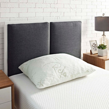 Relax Standard/Queen Size Pillow MOD-5575-WHI White